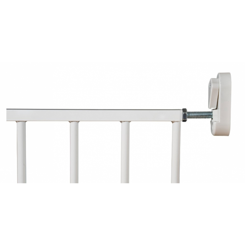 Callowesse Screwfit Metal Stair Gate – 76-81 cm – White