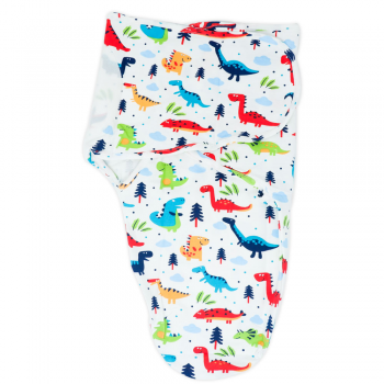 Callowesse Newborn Baby Swaddle - 0-3 Months - Dino Land