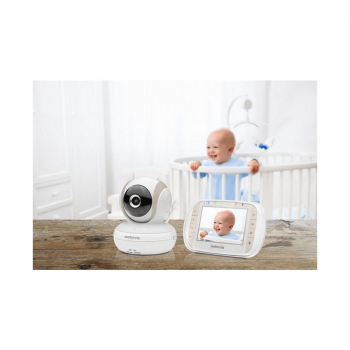 Motorola & Callowesse 3.5″ Video Monitor & Medically Certified Baby Breathing Monitor Bundle