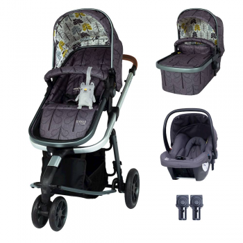 Cosatto Giggle 3 Travel System & Hold Group 0+ Car Seat Bundle – Fika Forest