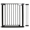 Callowesse Kemble Pressure Fit Safety Gate – 82cm – 96cm – Black (14cm Extension Included)