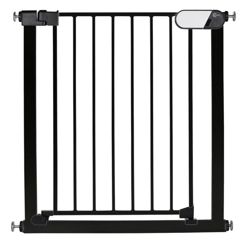 Callowesse Kemble Pressure Fit Safety Gate – 82cm – 89cm – Black (7cm Extension Included)