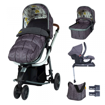 Cosatto Giggle 3 Whole 9 Yards Bundle & Hold Group 0+ Car Seat – Fika Forest