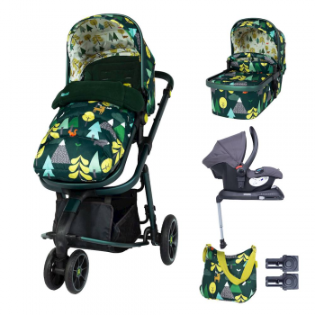 Cosatto Giggle 3 Whole 9 Yards Bundle & Hold Group 0+ Car Seat – Into The Wild