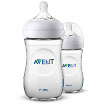 Philips AVENT Natural Feeding Bottle 260ml – Pack of 2