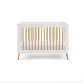 Obaby Maya Mini Cot Bed Standard Image Full Cot Side View