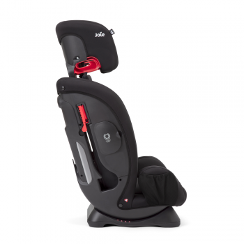 Joie Fortifi Group 1/2/3 Car Seat- Coal- Booster Seat Side View