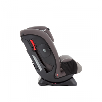 Joie Fortifi Group 1/2/3 Car Seat- Dark Pewter - Side View