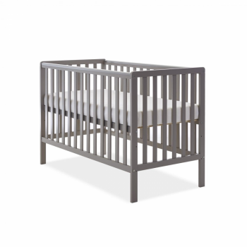 Bantam Cot - Taupe Grey- Height Adjustable
