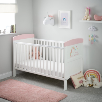 Grace Inspire Cot Bed- Unicorn- Lifestyle