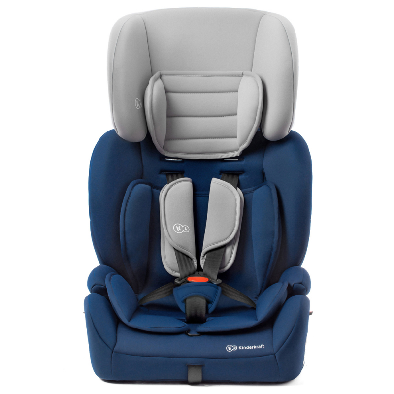 Kinderkraft Concept Car Seat- Navy- Chair Front View