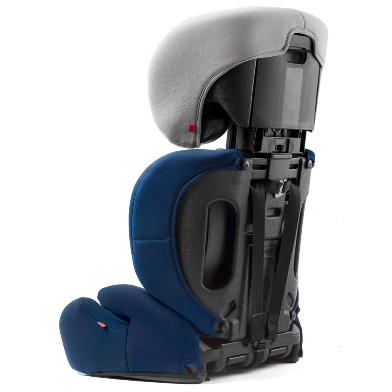 Kinderkraft Concept Car Seat- Navy- Toddler Chair- Back view