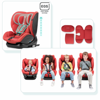 Kinderkraft Myway Car Seat- Grey- Insert and Stages