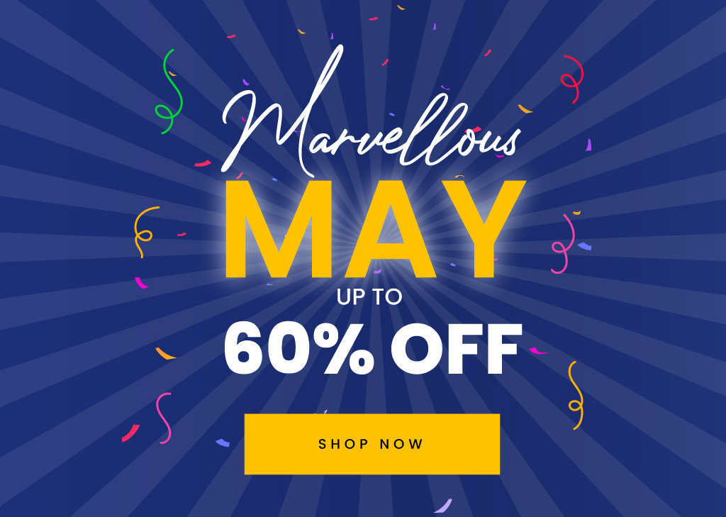 Marvellous May Sale