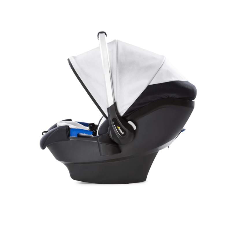 Hauck iPro Baby - Lunar - Side Profile
