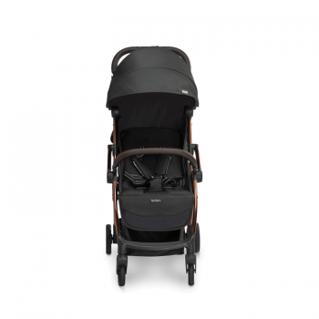 Laclerc Influencer Stroller - Black Brown - Front View