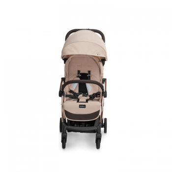 Laclerc Influencer Stroller - Sand Chocolate - Front View