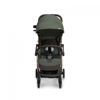 Lelerc Influencer Stroller - Army Green - Front View