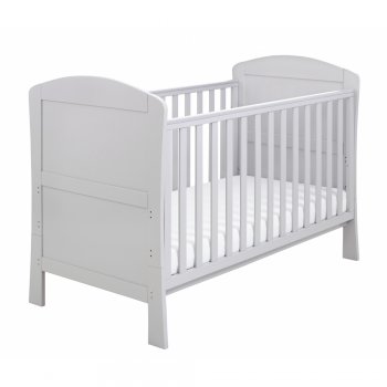 Babymore Aston Dropside Cot Bed - Grey__