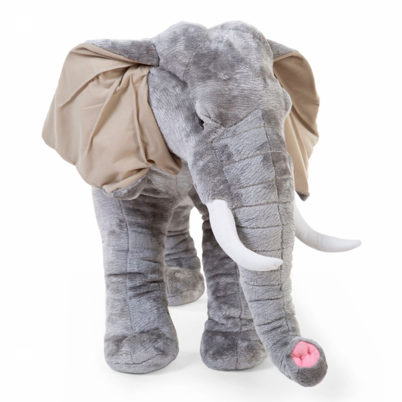 Childhome Standing Elephant - 75cm - Angled View