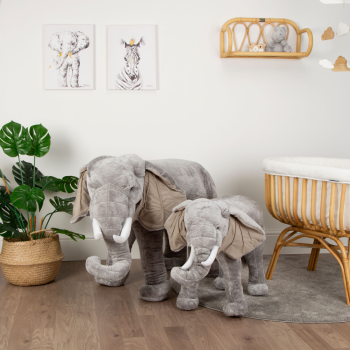 Childhome Standing Elephant - 75cm - Side by Side