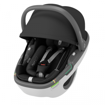 Maxi Cosi Coral 360 iSize Car Seat - Essential Black - Canopy