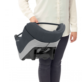 Maxi Cosi Coral 360 iSize Car Seat - Essential Graphite- Carrier