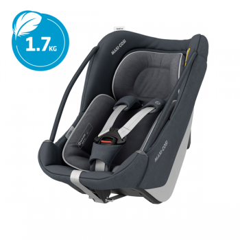 Maxi Cosi Coral 360 iSize Car Seat - Essential Graphite - Carrier