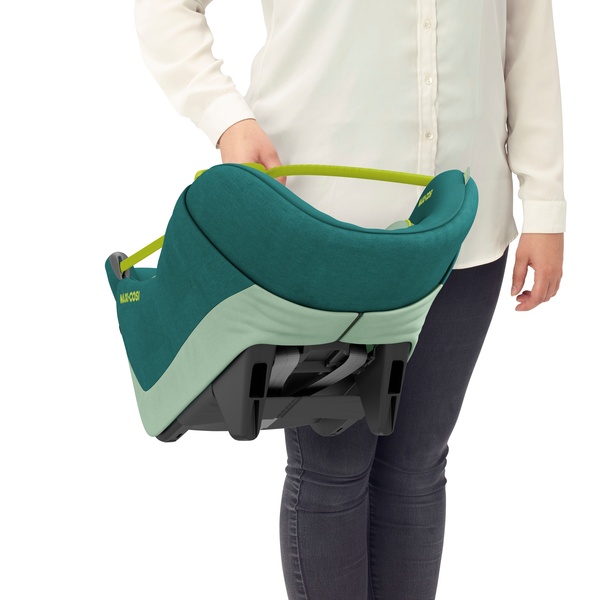 Maxi Cosi Coral 360 iSize Car Seat - Neo Green - Carrier