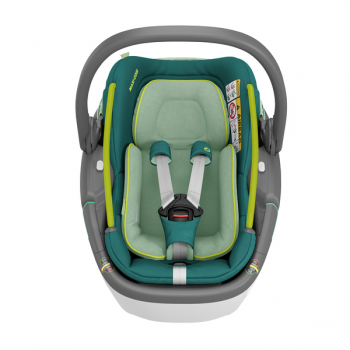 Maxi Cosi Coral 360 iSize Car Seat - Neo Green - Front View