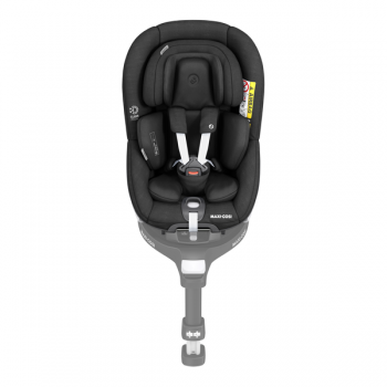 Maxi Cosi Pearl 360 i-Size Car Seat - Authentic Black - Front View