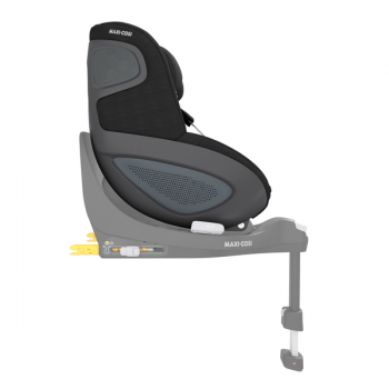 Maxi Cosi Pearl 360 i-Size Car Seat - Authentic Black - Side View