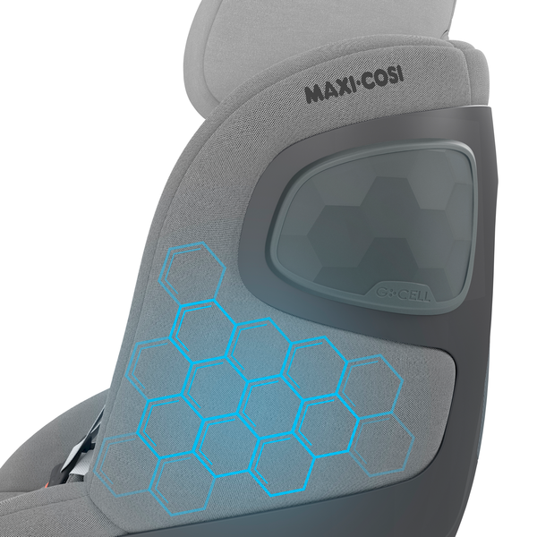 Maxi Cosi Pearl 360 i-Size Car Seat - Authentic Grey - Feature_