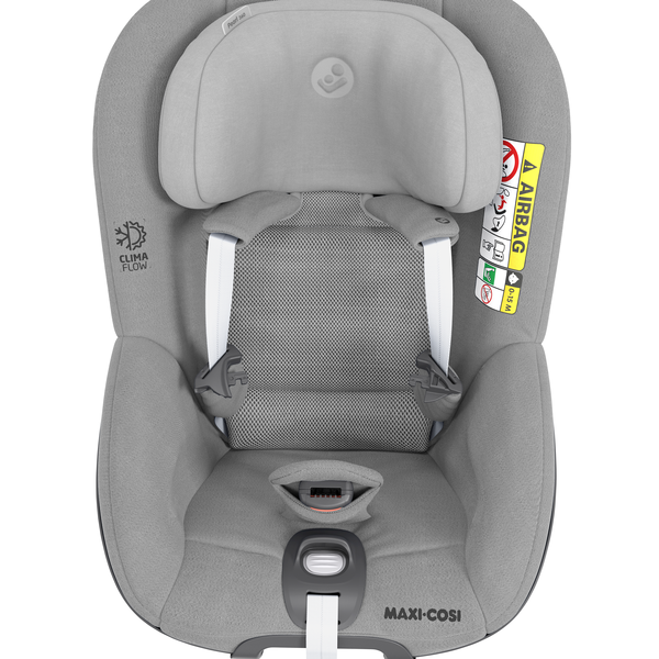 Maxi Cosi Pearl 360 i-Size Car Seat - Authentic Grey - Front View