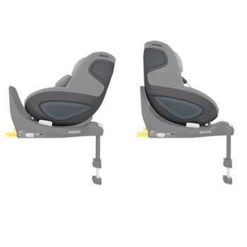 Maxi Cosi Pearl 360 i-Size Car Seat - Authentic Grey - Side View