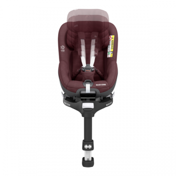 Maxi Cosi Pearl 360 i-Size Car Seat - Authentic Red - Front View Adjustable