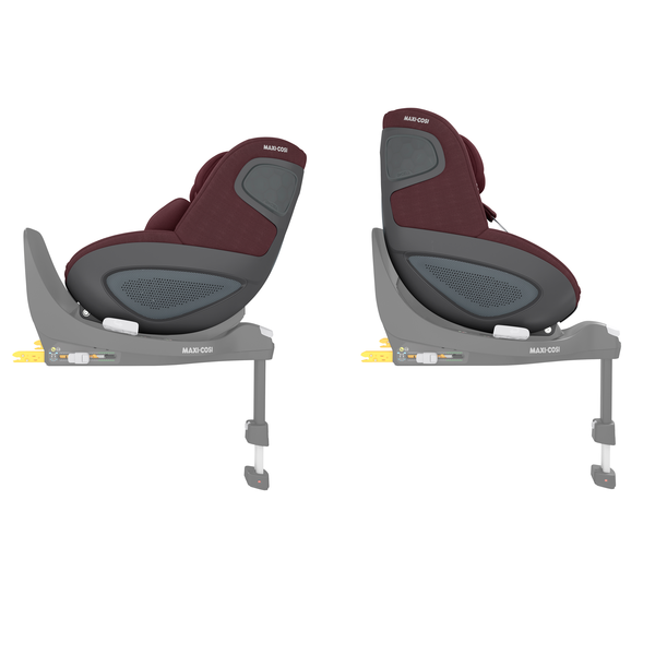 Maxi Cosi Pearl 360 i-Size Car Seat - Authentic Red - Side View