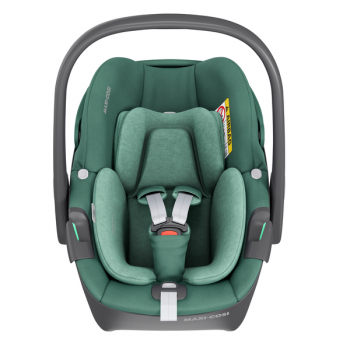 Maxi Cosi Pebble 360 i-Size Car Seat - Essential Green - Front View