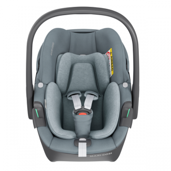Maxi Cosi Pebble 360 i-Size Car Seat - Essential Grey - Front View