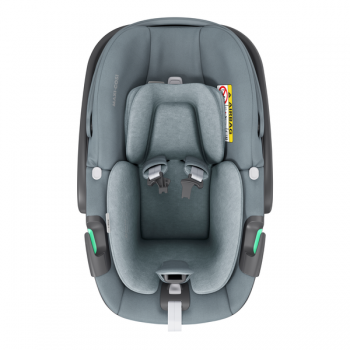 Maxi Cosi Pebble 360 i-Size Car Seat - Essential Grey - Front View_