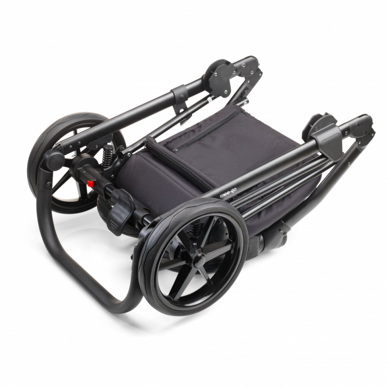 Mee-Go New Milano Plus Travel System - Midnight Grey - Chassis
