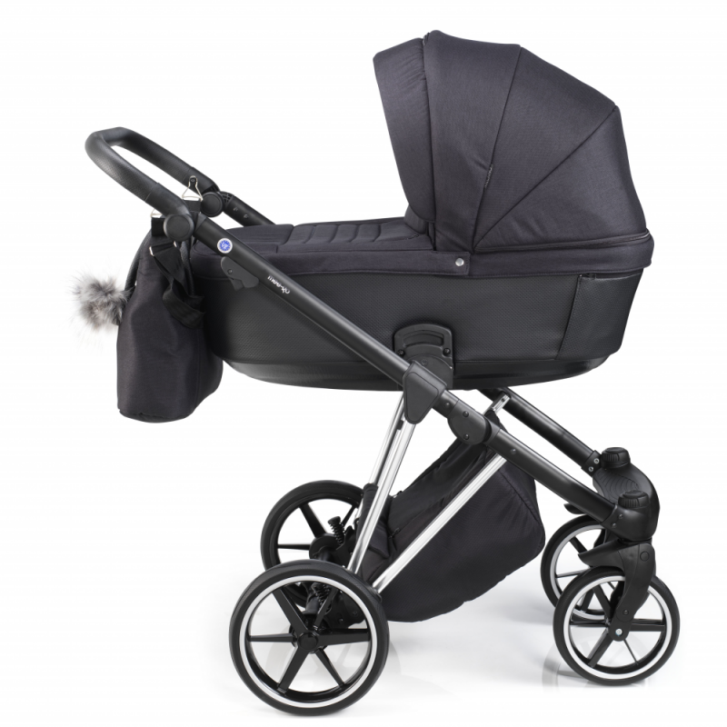 Mee-Go New Milano Plus Travel System - Platinum - Side View
