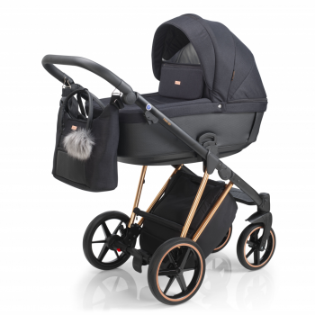 Mee-Go New Milano Plus Travel System - Rose Gold