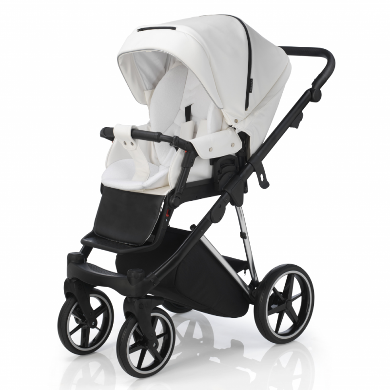 Mee-Go New Milano Special Edition Travel System - White Leatherette - Seat Unit