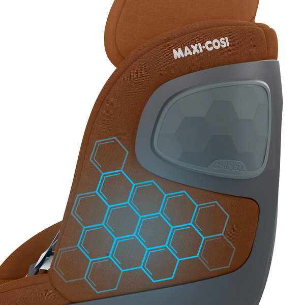Pearl 360 i-Size Car Seat - Authentic Cognac - Features_