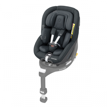 Pearl 360 i-Size Car Seat - Authentic Graphite - Angled View
