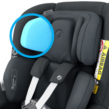 Pearl 360 i-Size Car Seat - Authentic Graphite - Features_