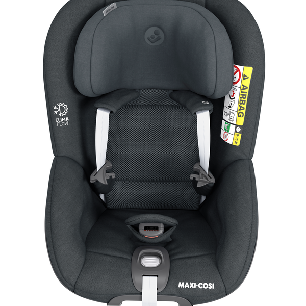 Pearl 360 i-Size Car Seat - Authentic Graphite - Front View
