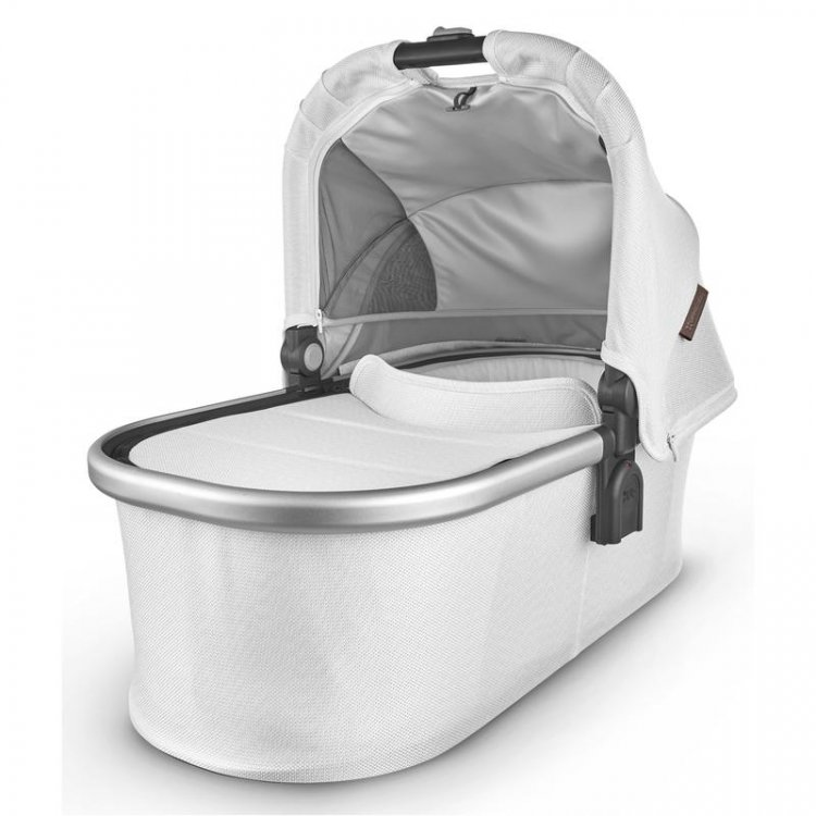 UppaBaby Carry Cot - Bryce - White Marl