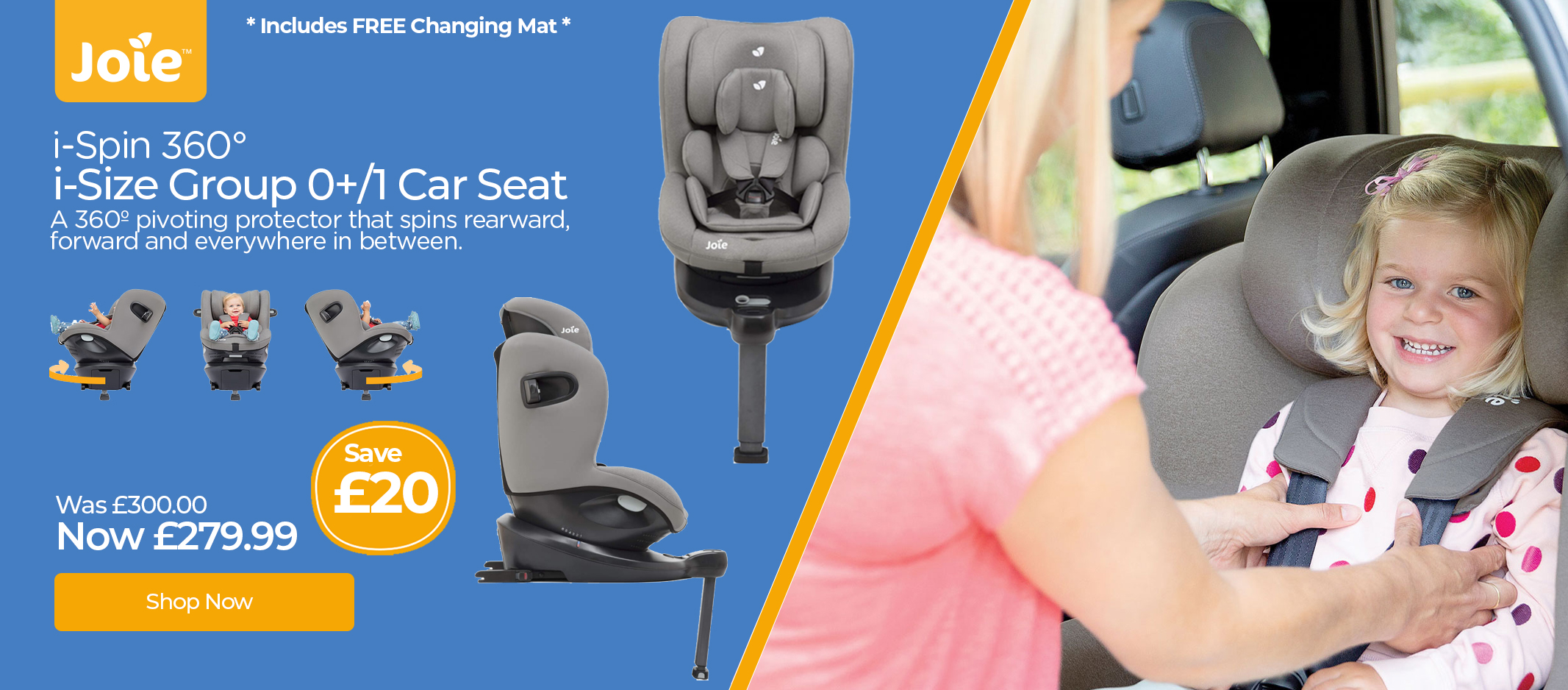 Joie i spin Car Seat